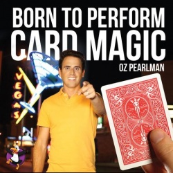 Card Magic by Oz Pearlman (inkl. Bicycle Deck) -...