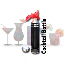Magic Cocktail Bottle - Niffin Shaker (Made in Germany)